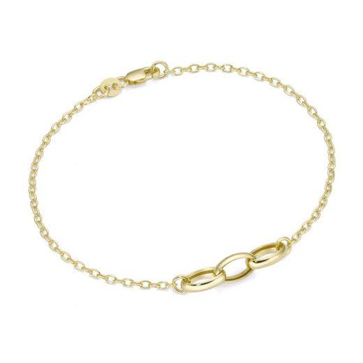 Luigi Merano Armband »Ankerkette mit Zwischenteilen, Gold 375«