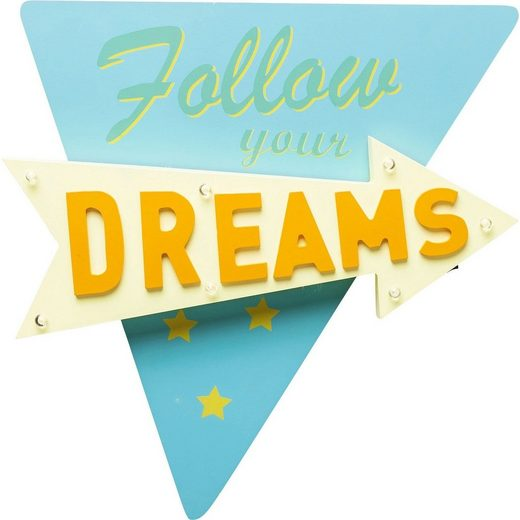 KARE Wandleuchte »FOLLOW YOUR DREAMS«