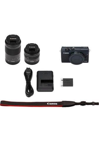 CANON »EOS M200 EFM 15-45mm + EFM 55-200« Si...