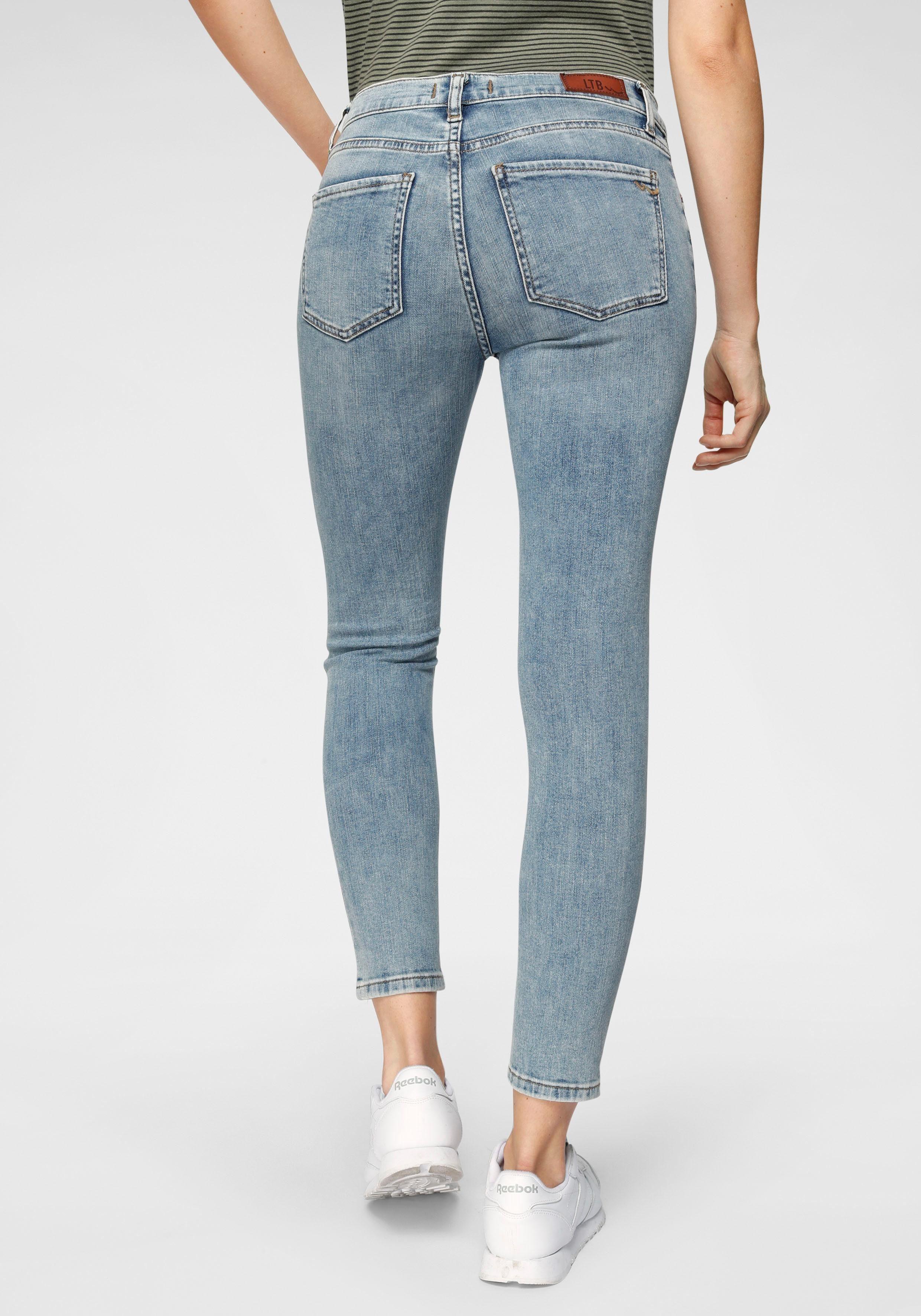 LTB Skinny fit Jeans »LONIA« mit extra kurzem Ankle Leg & Stretch Qualität online kaufen | OTTO