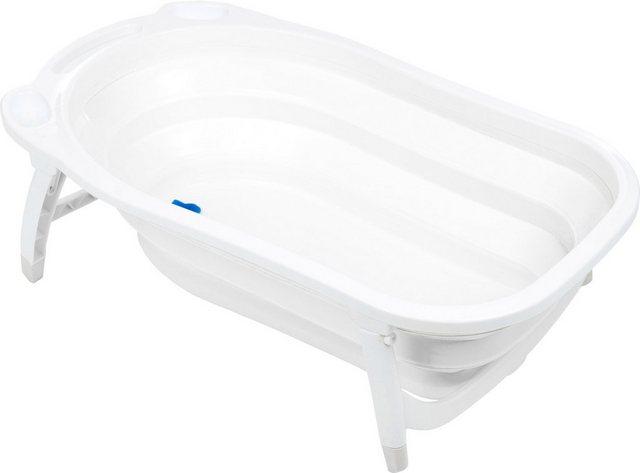 Badewannen und Whirlpools - Fillikid Babywanne »Faltbadewanne weiß«, mit rutschfesten Füßen  - Onlineshop OTTO