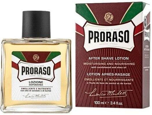PRORASO After Shave Lotion »Red Nourish«, Sandelholz