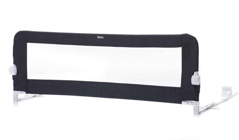 Fillikid Bettschutzgitter »dunkelgrau, 135/50 cm«, für Standard- und Boxspringbetten