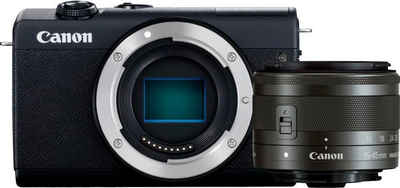 Canon »EOS M200 EF-M 15-45mm f3.5-6.3 IS STM Kit« Systemkamera (EF-M 15-45mm f/3.5-6.3 IS STM, 24,1 MP, Bluetooth, WLAN (Wi-Fi)