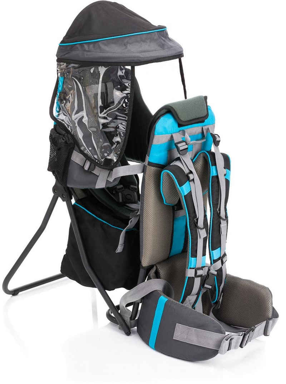 Fillikid Rückentrage »Explorer grau/blau«