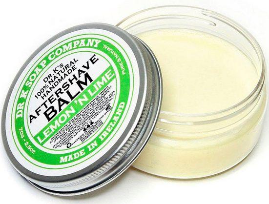 DR K SOAP COMPANY After-Shave Balsam »Lemon 'n Lime«, natürliche Pflege