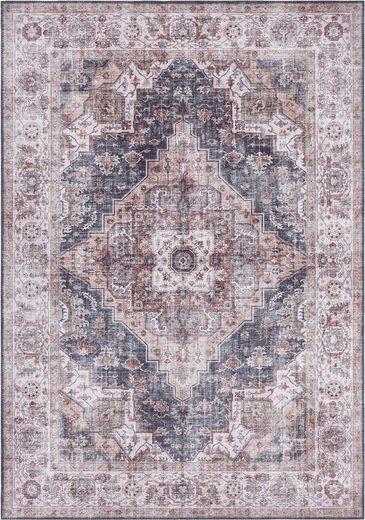 Teppich »Sylla«, NOURISTAN, rechteckig, Höhe 5 mm, Vintage Design, Orient-Optik