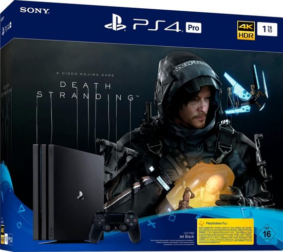 PlayStation 4 Pro (PS4 Pro) 1TB, inkl. Death Stranding