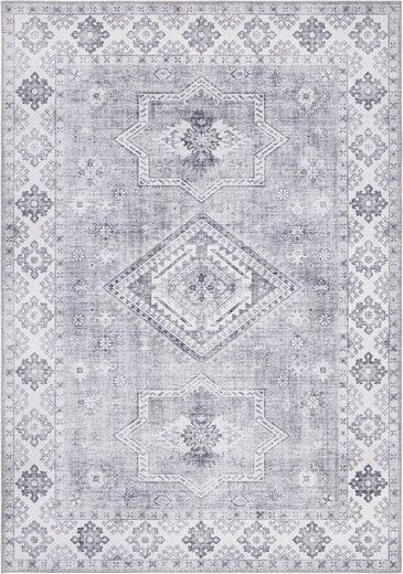 Teppich »Gratia«, NOURISTAN, rechteckig, Höhe 5 mm, Vintage Orient-Optik