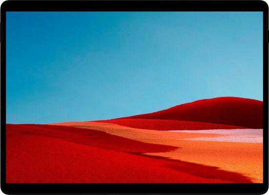Microsoft Surface Pro X - 16GB/256 GB Convertible Notebook (33,02 cm/13 Zoll, Qualcomm, 256 GB SSD)