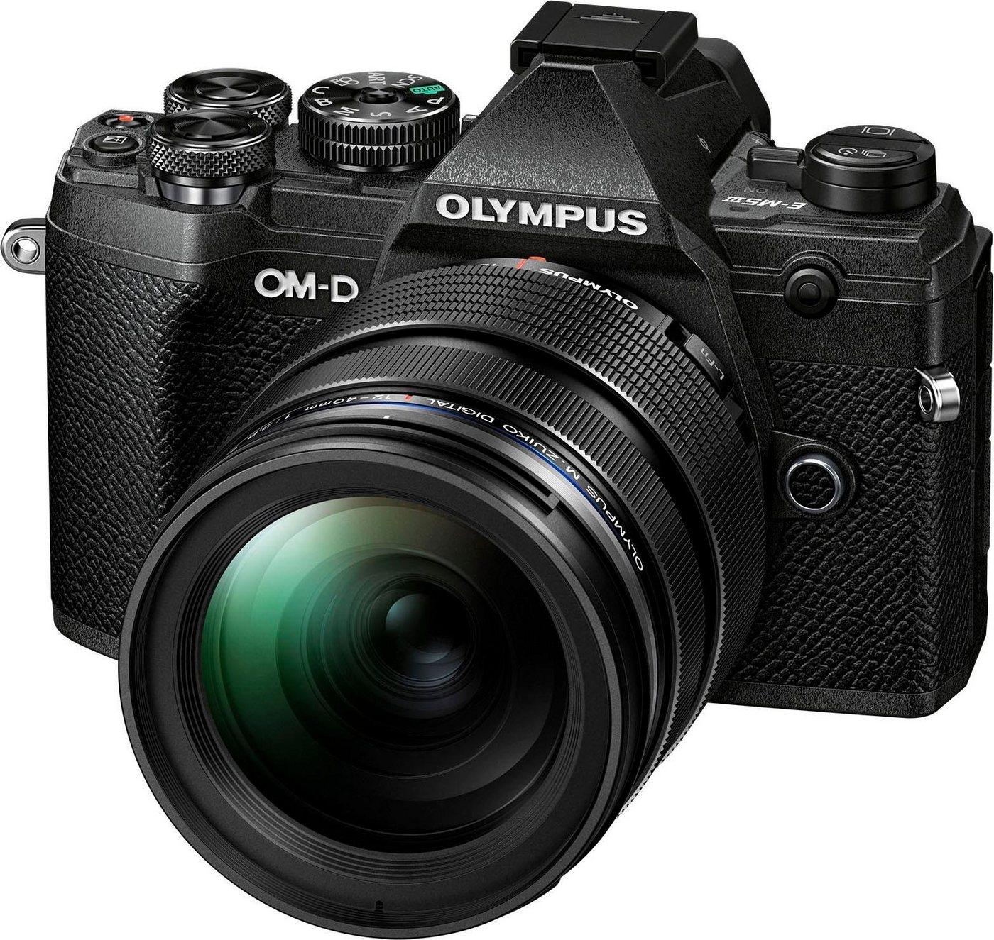 Systemkameras - Olympus »E M5III inkl. 12 40mm PRO Objektiv« Systemkamera (M.Zuiko Digital ED 12 40mm F2.8 PRO, 20,4 MP, Bluetooth, NFC)  - Onlineshop OTTO