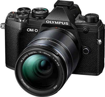 Olympus »OM-D E-M5 Mark III« Systemkamera (M.Zuiko Digital ED 14-150mm F/4-5.6, 20,4 MP, Bluetooth, NFC)