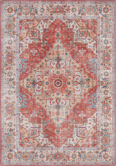 Teppich »Sylla«, NOURISTAN, rechteckig, Höhe 5 mm, Vintage Design, Orient-Optik, Wohnzimmer