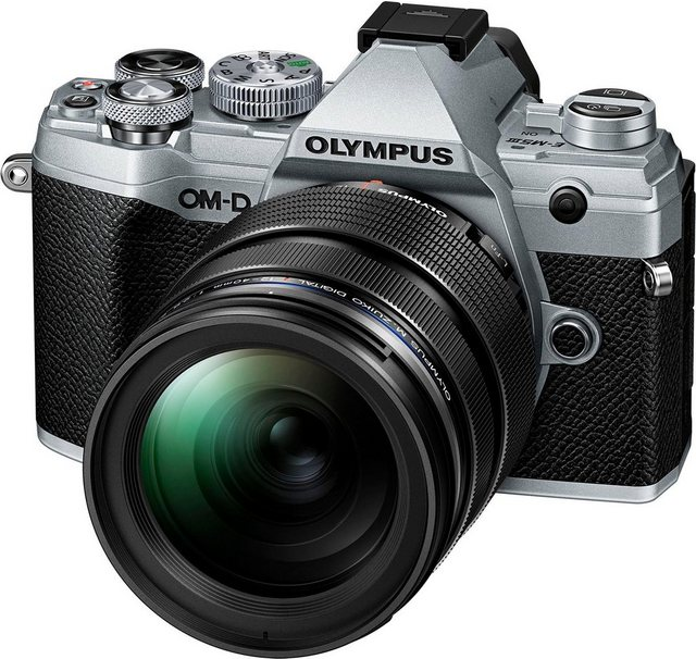 Systemkameras - Olympus »OM D E M5 Mark III« Systemkamera (M.Zuiko Digital ED 12 40mm F2.8 PRO, 20,4 MP, Bluetooth, NFC)  - Onlineshop OTTO