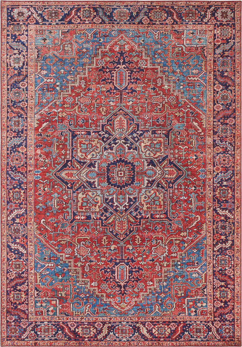 Teppich »Amata«, NOURISTAN, rechteckig, Höhe 5 mm, Vintage Design, Orient-Optik, Wohnzimmer