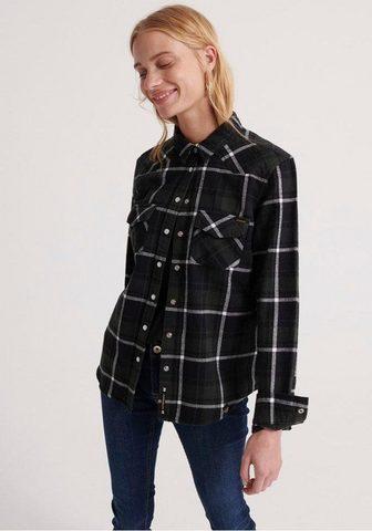 SUPERDRY Marškiniai »BAILEY WESTERN CHECK SHIRT...