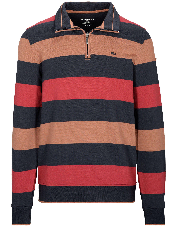 ULLA POPKEN Shirt classic mit silbernen Details lichtgrau NEU