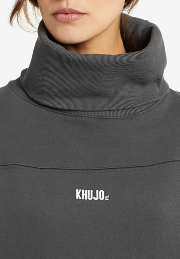 khujo Sweatkleid »KAWALLA« mit weitem Rollkragen