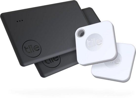 tile Schlüssel-/Bluetooth-Tracker »Mate+ & Slim 2 (4-pack)«