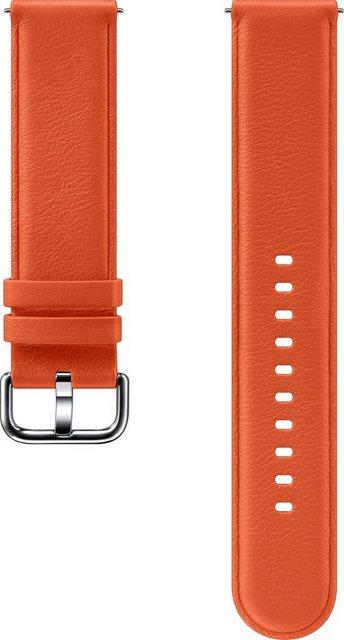 Samsung Ersatz-/Wechselarmband »Lederarmband für Galaxy Watch Active2«