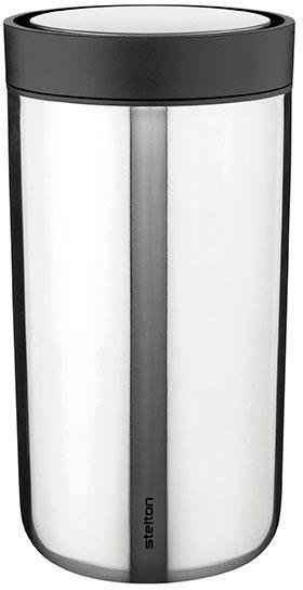 Stelton Thermobecher »To Go Click«, Edelstahl, Kunststoff, 200 ml