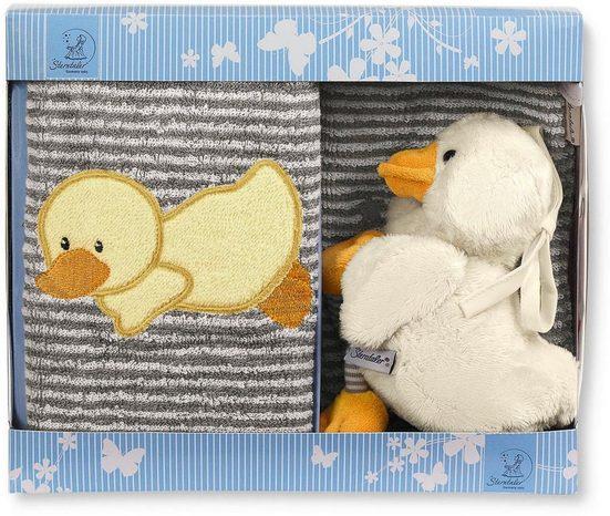 Sterntaler® Spieluhr »Geschenk-Set Edda II«, mit Waschhandschuh und Kinderhandtuch