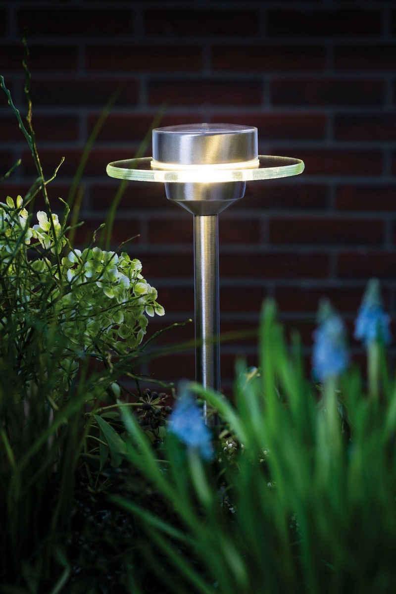 Paulmann Gartenleuchte »Outdoor Solarspieß Special Line Ufo LED Edelstahl«