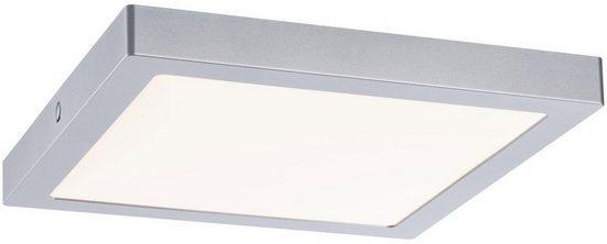 Paulmann LED Deckenleuchte »LED Panel Abia 300x300mm 22 W Chrom matt«, LED Deckenlampe