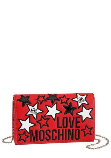 LOVE MOSCHINO Mini Bag, mit modischer Sternen Applikation