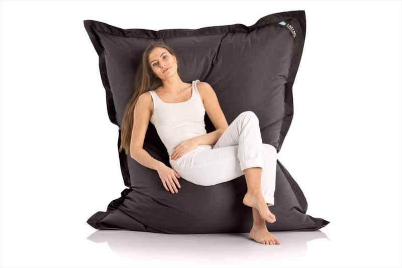 LazyBag Sitzsack »Indoor & Outdoor XXL Riesensitzsack« (Sitzkissen Bean-Bag, Nylon Bezug), 180 x 140 cm