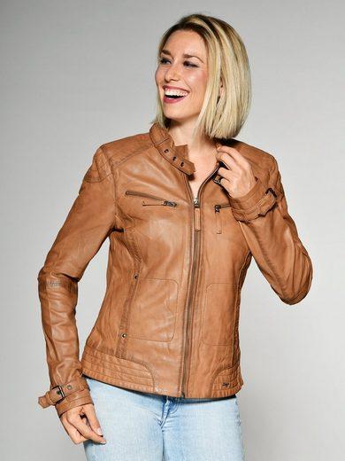Maze Lederjacke mit zwei Brusttaschen »Ryana«