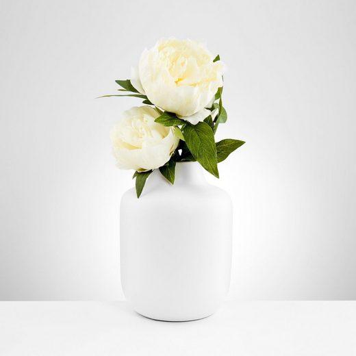 BUTLERS BELLE BLANC »Vase Höhe 20 cm«
