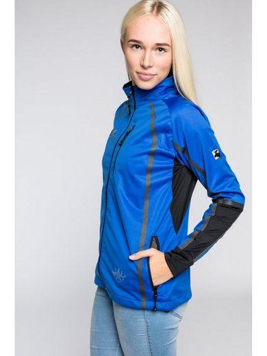 DEPROC Active Softshelljacke »THORSBY Women Midlayer« auch in Großen Größen erhältlich