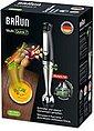 Braun Stabmixer MQ7000X Multi Quick 7, 1000 W, mit 600ml Mixbecher, stufenlose Geschwindigkeitsanpassung, Bild 10