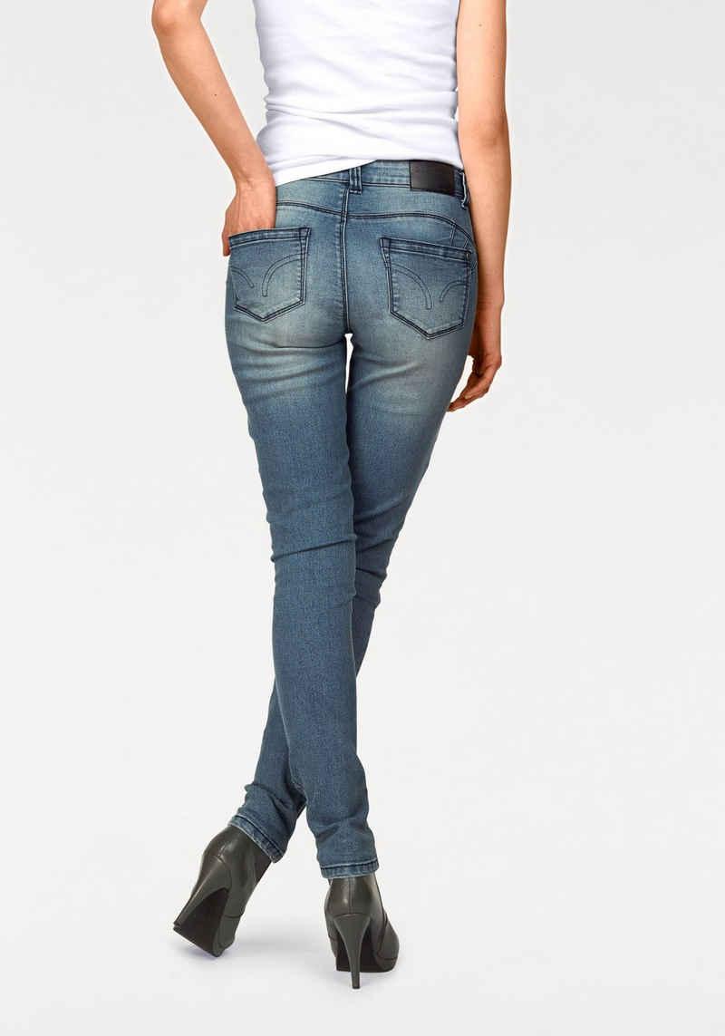 Arizona Skinny-fit-Jeans »Shaping« Mid Waist
