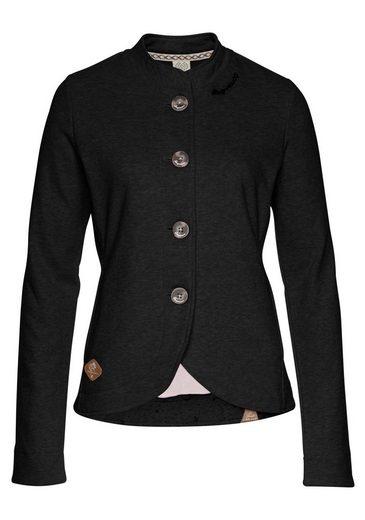 Ragwear Sweatjacke »AVALINA« im Streetwear-Blazer-Style