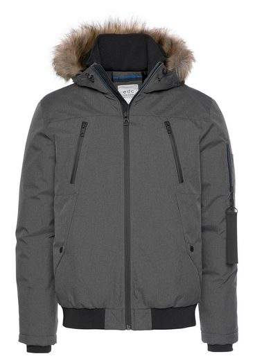 edc by Esprit Winterjacke mit Fellimitat