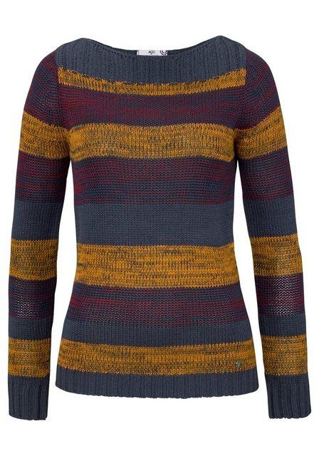 AJC Streifenpullover im tollen Streifen Dessin   Bekleidung > Pullover > Streifenpullover   AJC