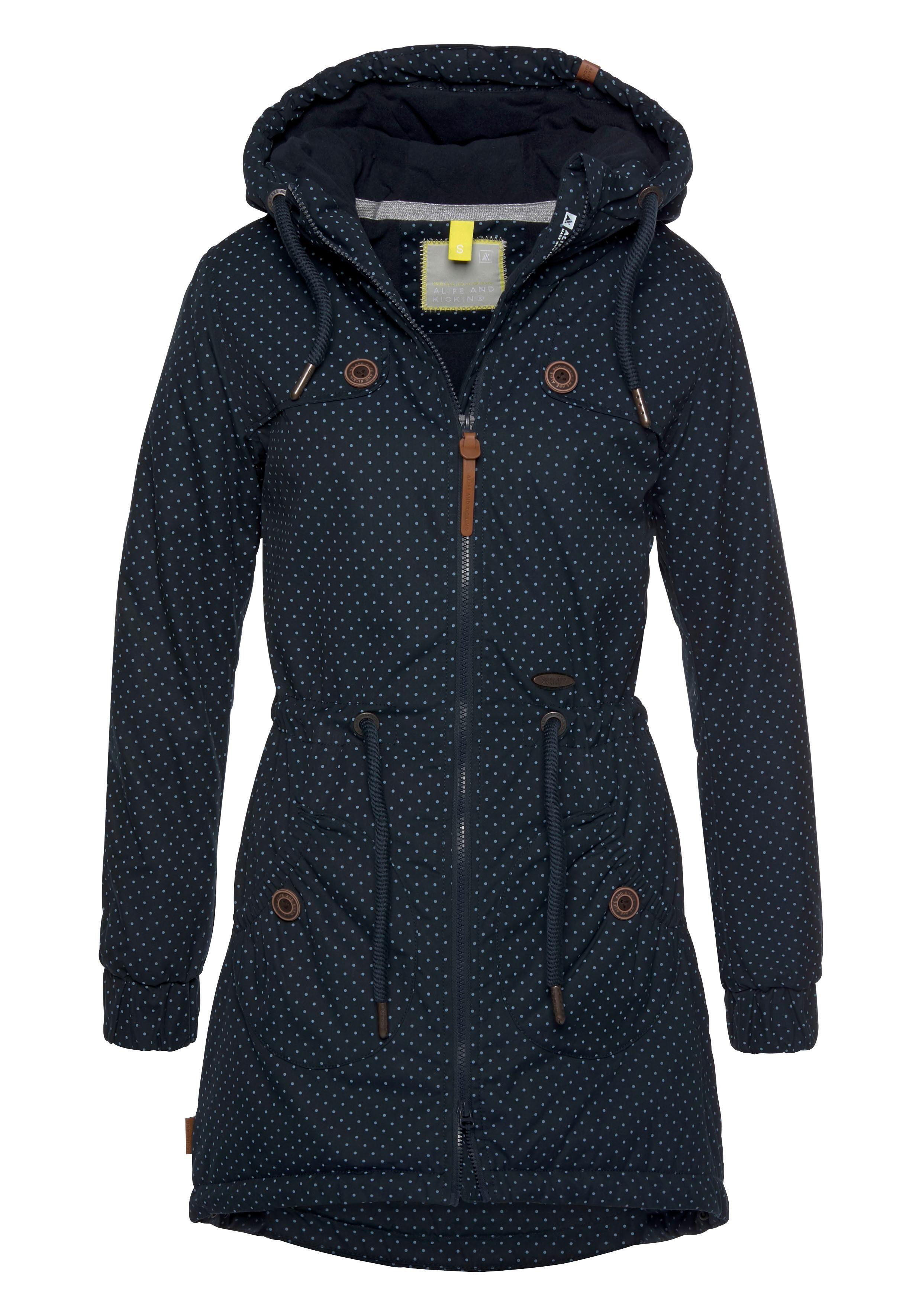 Alife & Kickin Outdoorjacke »CharlotteAK A« modische Winterjacke mit Kapuze und vielen Details online kaufen   OTTO