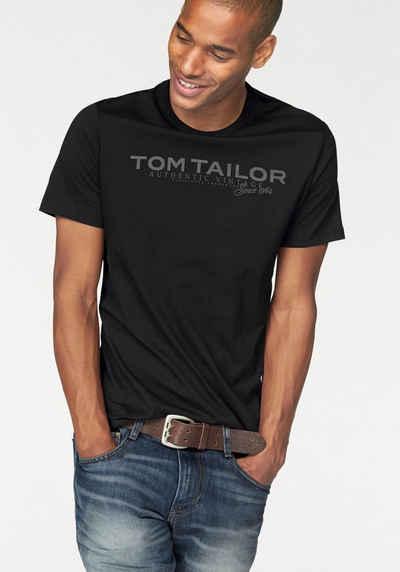 TOM TAILOR T-Shirt mit Logoprint