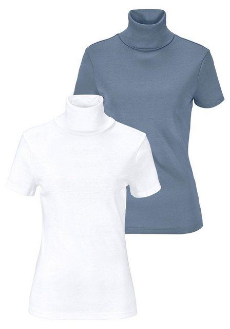 Flashlights Rollkragenshirt (Packung, 2er-Pack) | Bekleidung > Shirts > Rollkragenshirts | Flashlights