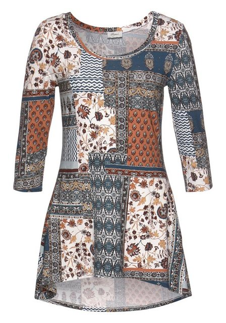 Boysen's Longshirt in ausgestellter Form | Bekleidung > Shirts > Longshirts | Boysen's