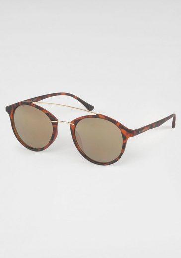 BASEFIELD Sonnenbrille Damen Sonnenbrille, Circular, Animal Look