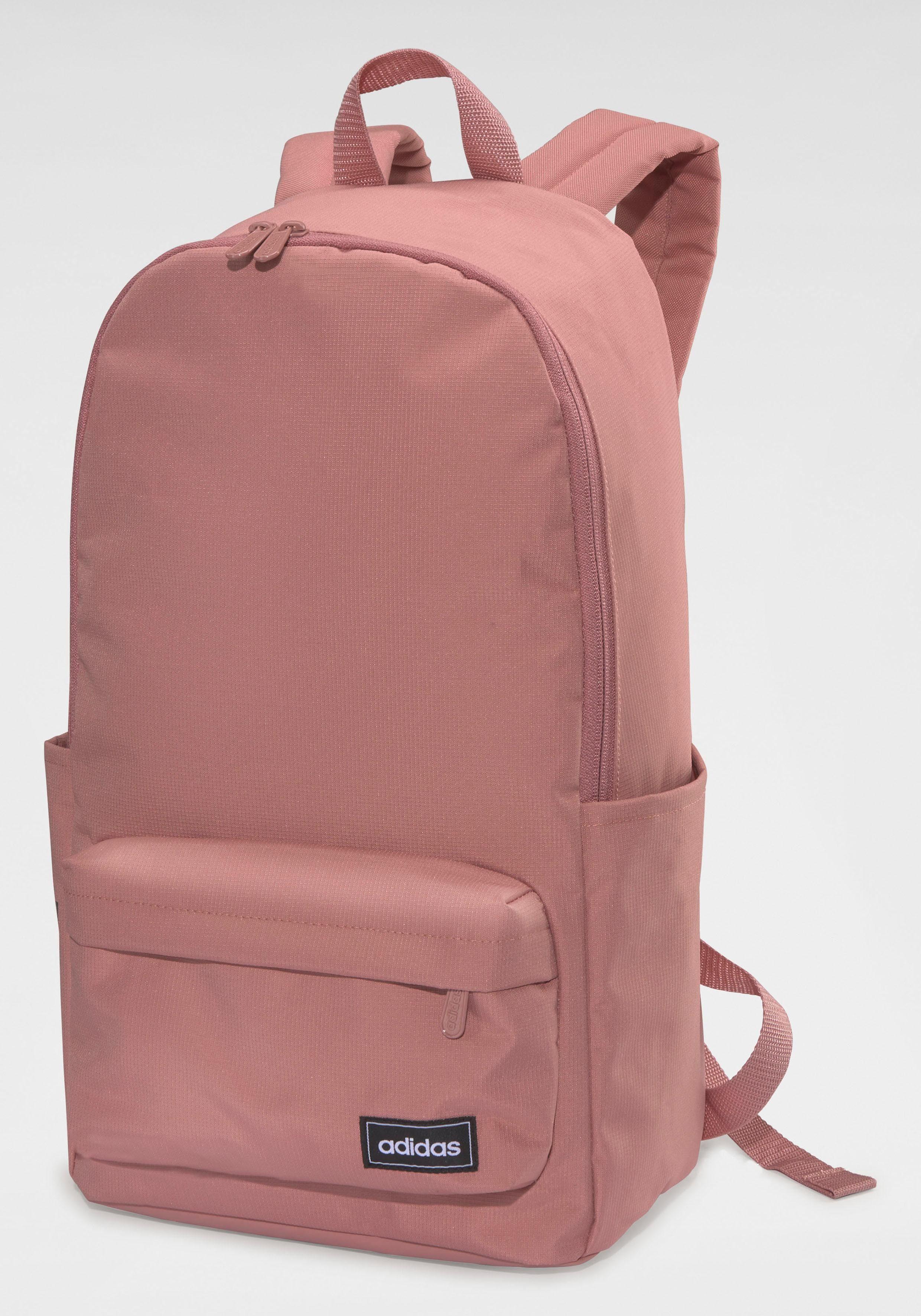 Unisex adidas Sportrucksack »CLASSIC 3 STRIPES BACKPACK W« rosa   04061626741070