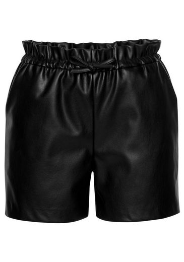 Laura Scott Shorts aus Lederimitat