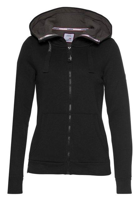 KangaROOS Kapuzensweatjacke mit kuscheliger Kapuze | Bekleidung > Sweatshirts & -jacken | Kangaroos