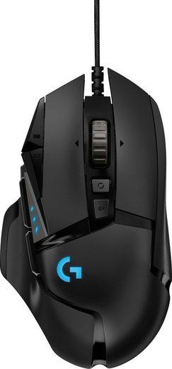 Logitech G »G502 HERO High Performance« Gaming-Maus (kabelgebunden)