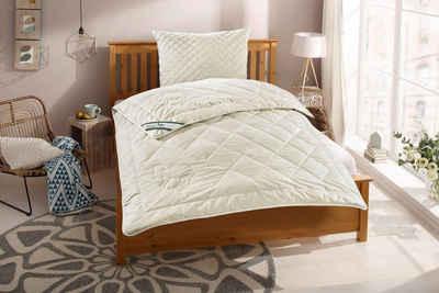 Naturhaarbettdecke, »Gobi«, f.a.n. Schlafkomfort, Füllung: 97% Kamelhaar - waschbar, 3% sonstige Fasern, Bezug: 100% Baumwolle, hohes Wärmerückhaltevermögen, angehmen klimatisierendes und trockenes Schlafklima