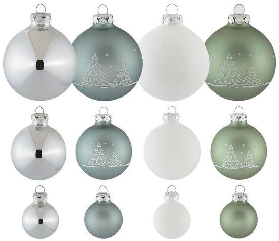 Thüringer Glasdesign Weihnachtsbaumkugel »Christmas Hygge« (30 Stück)