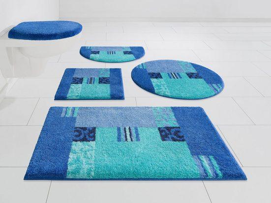 Badematte »Prado« GRUND exklusiv, Höhe 20 mm, rutschhemmend beschichtet, fußbodenheizungsgeeignet
